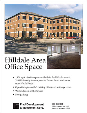 Hilldale Area Office Space